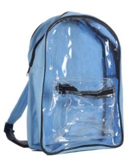 Clear PVC Security Backpack, Light Blue by BAGS FOR LESSTM