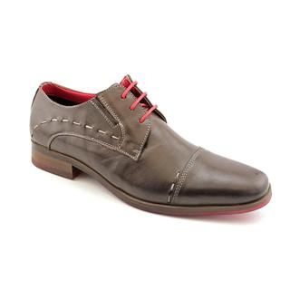 Steve Madden Mens Draper Leather Casual Shoes