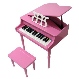 Childs Pink Baby Grand Piano