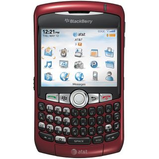 RIM BlackBerry Curve 8310 Unlocked Red Cell Phone