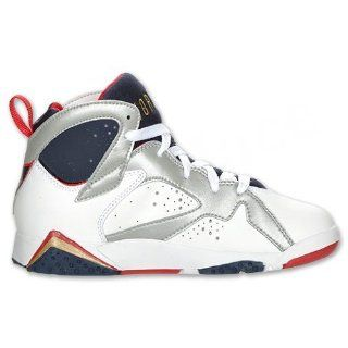 Nike Air Jordan 7 Retro (PS) Boys Basketball Shoes 304773 135 Shoes