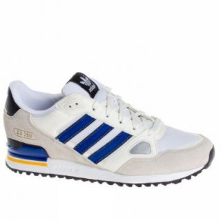 Adidas Trainers Shoes Mens Zx 750 White Shoes