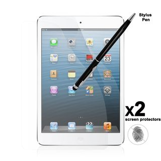 Apple iPad Mini Anti Fingerprint Screen Protector (2 pack) with Dual