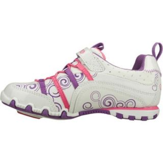 Girls Skechers Bella Ballerina Prima Princess White/Pink