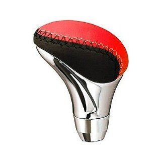 Pilot PM146R Red Chrome Manual Shift Knob    Automotive