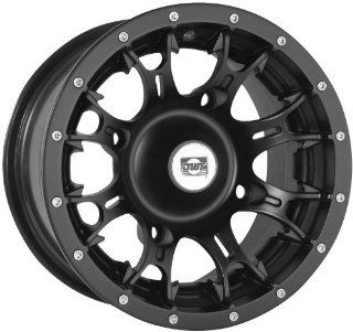 Douglas Wheel Diablo Wheel   14x6   4+2 Offset   4/156   Black, Wheel