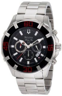 Bulova Mens 96B154 Solano Marine Star Chronograph Watch Watches