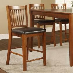 Beauville Mission 7 piece Counter height Table Set