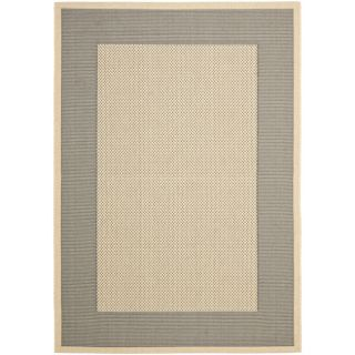 Poolside Grey/ Cream Indoor Outdoor Rug (8 x 112)