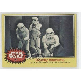 Deadly blasters (Trading Card) 1977 Star Wars #182