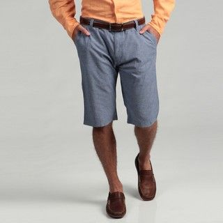 The Fresh Brand Mens Blue Classic Shorts