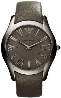 Emporio Armani Super Slim Leather Mens Watch AR2057 Watches