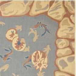 Key West Fish Pool Indoor Outdoor Rug (53 x 77)
