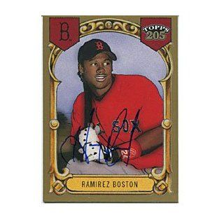 Hanley Ramirez Autographed/Signed 2003 Topps 205 Card
