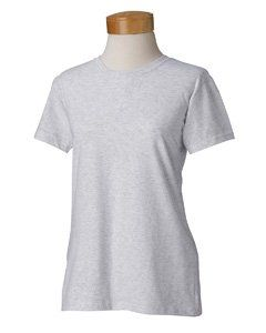 Gildan Ladies Heavy Cotton Missy Fit T Shirt. G500L