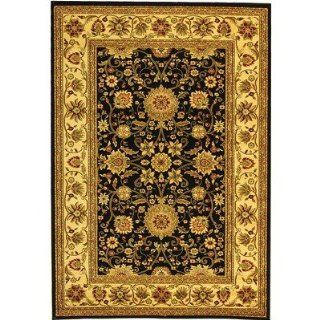 Safavieh Lyndhurst Collection LNH212A Black and Ivory Area