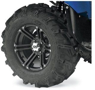 ITP Mud Lite XTR, SS212, Tire/Wheel Kit   27x11Rx14   Black 43580R