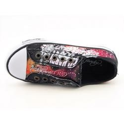 Ed Hardy Kids 11FJP102K Jupitar Lowrise Youth Kids Girls Black Shoes