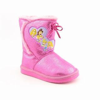 Disney Princess Girls Pink Boots Casual Shoes