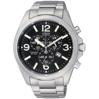 Citizen Mens Eco drive Chronograph Sports Watch