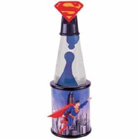 WB Superman Premiere Collection Lava Lamp Lighting Home