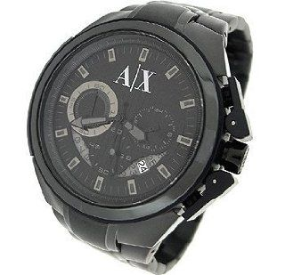 Armani Exchange Chronograph Black Dial Mens watch #AX1116 Watches