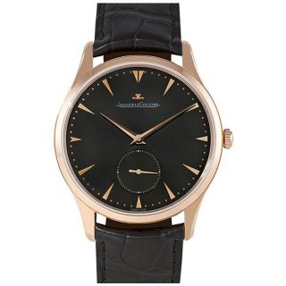 Jaeger LeCoultre Mens Master Ultra Thin Rose Gold Watch