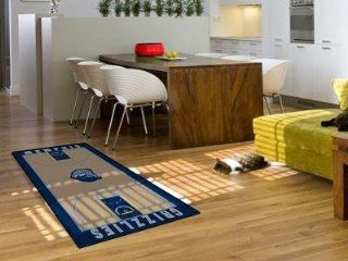 Memphis Grizzlies Basketball Court Runner Area Rug/Carpet