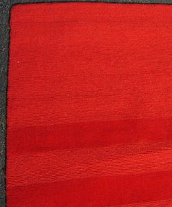 Indian Hand tufted Red Rug (5 x 7)